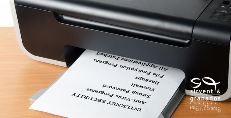 Impresoras, ¿amenazan estos periféricos la seguridad de tu negocio?